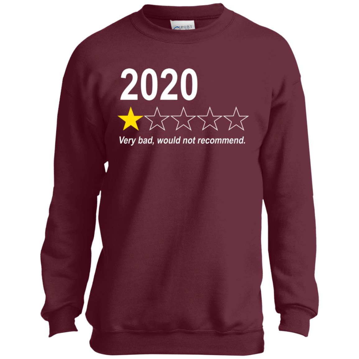 PC90Y Youth Crewneck Sweatshirt